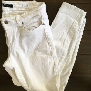 White Ankle Jeans